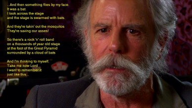 Bob Weir Describes the Grateful Dead's Surreal Performance in Egypt