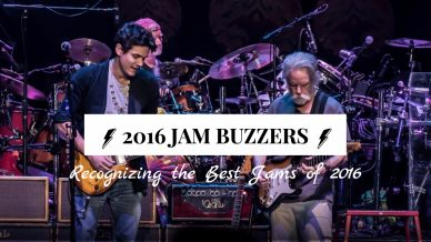The First Annual JamBuzzers: Recognizing the Best Jams of 2016