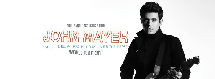 john mayer the search for everything tour at verizon center jam buzz. Black Bedroom Furniture Sets. Home Design Ideas
