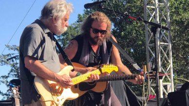 Bob Weir, Eric Johnson, Jim James at Sound Summit on September 9, 2017