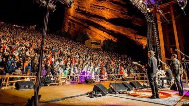Joe Russo's Almost Dead, Oteil Burbridge at Red Rocks Amphitheatre on August 31, 2017