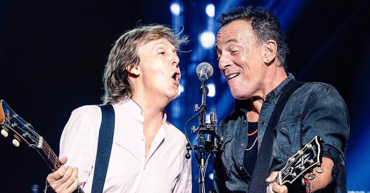 Instant classic watch bruce springsteen join paul - Paul mccartney madison square garden tickets ...