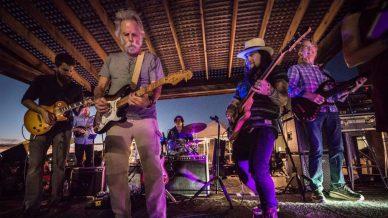 Bob Weir, Grahame Lesh, Mihali Savoulidis, Peter Rowan, Phil Lesh at The Backyard at Terrapin Crossroads on October 6, 2017