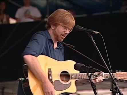 Trey Anastasio Martin acoustic