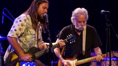 Bob Weir, Lukas Nelson, Promise of the Real at Slim's on October 8, 2017