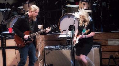 Carey Frank, Jimmy Vivino, Marcus King, Tedeschi Trucks Band, The Woody Brothers at Beacon Theater on October 10, 2017