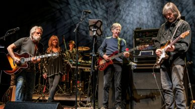 Bob Weir, Larry Campbell, Phil Lesh, Teresa Williams at Wang Theater on March 8, 2018