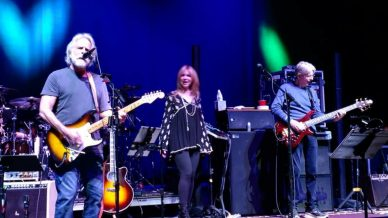 Bob Weir, Larry Campbell, Phil Lesh, Teresa Williams at Wang Theater on March 7, 2018