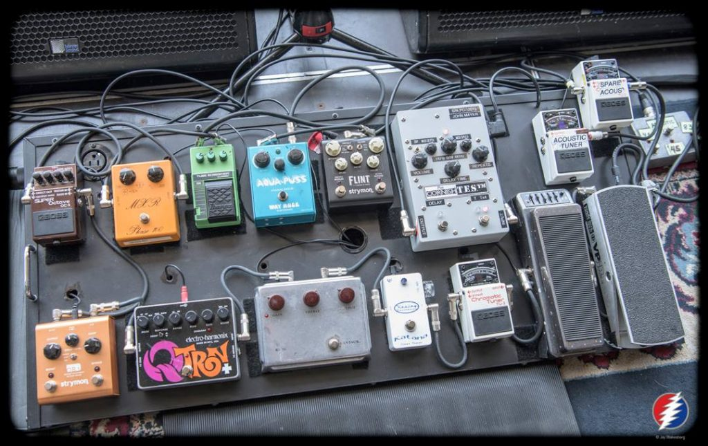 John Mayer Dead And Co Pedal Board