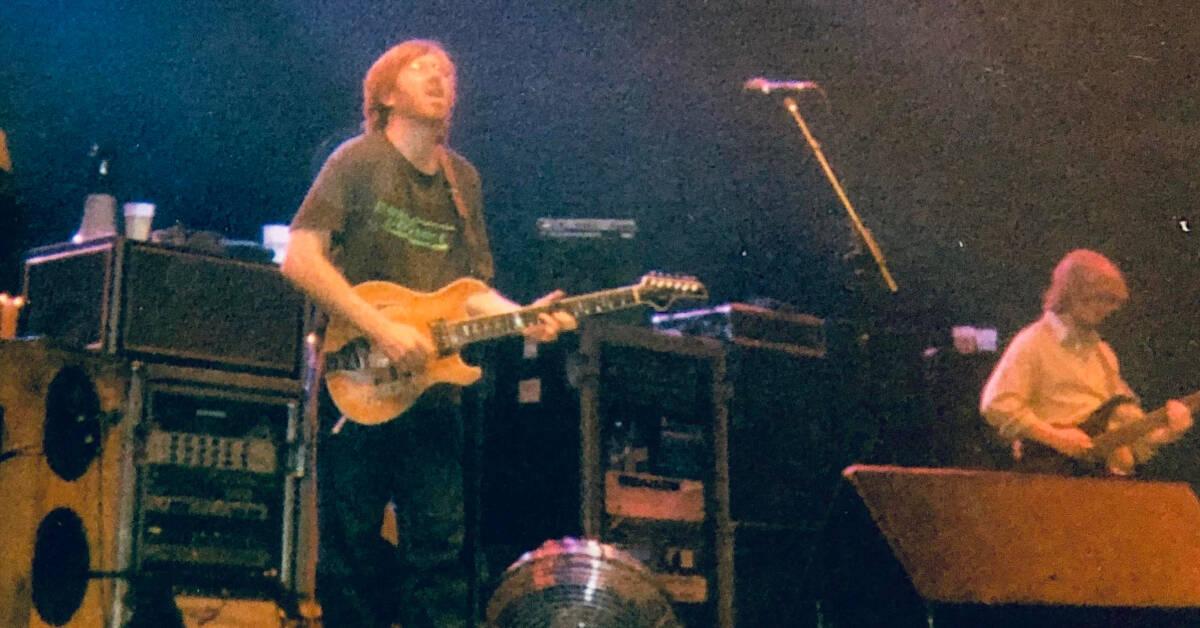 First Listen: Phish's Soundcheck from Legendary Dayton '97