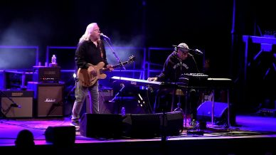 Danny Louis, Warren Haynes at South Farms on September 13, 2020