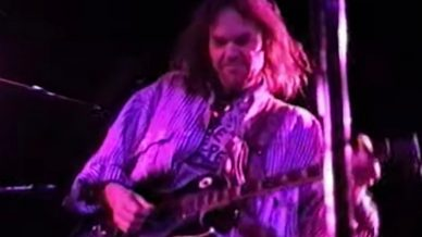 Crazy Horse, Neil Young at The Catalyst on November 13, 1990